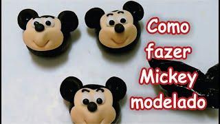 getlinkyoutube.com-Modelagem Mickey - docinho de leite em pó -