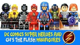 getlinkyoutube.com-CW's The Flash Reverse-Flash & Zoom LEGO KnockOff Minifigures w/ Atom Bane & Arkham Knight
