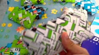 getlinkyoutube.com-ขายเป๋าตังค์  จากกระดาษ และซองขนม สุดเก๋