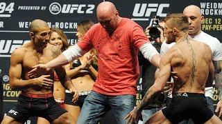 getlinkyoutube.com-Watch the full Jose Aldo vs. Conor McGregor weigh-in
