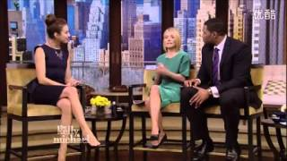 getlinkyoutube.com-Troian Bellisario on Live with Kelly & Michael