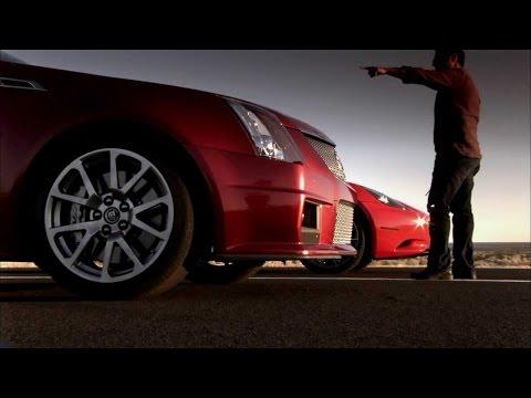 Чип тюнинг ДВС и АКПП Cadillac CTS2, 2009, разгон 0-200км/ч, 98 бензин