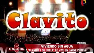 getlinkyoutube.com-Viviendo sin agua: 'Clavito y su chela' lo vive en carne propia