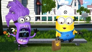 getlinkyoutube.com-Minions Mini Movie 2016 - Despicable Me Minion Rush Funny Animation