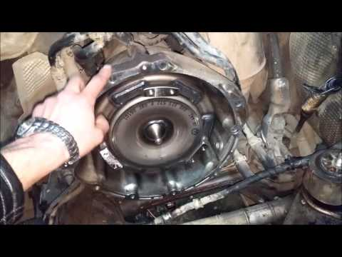Снятие двигателя Audi Q7,VW Touareg