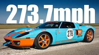 273mph Ford GT - Texas Mile!!!
