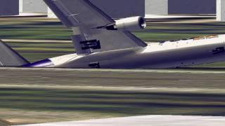 getlinkyoutube.com-Fedex MD 11 Narita Incident Crash 2 captains dead catastrophe