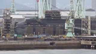 getlinkyoutube.com-潜水艦造船所をじっくりガン見!