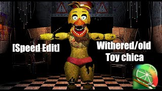 [Speed Edit]Making Withered/old Toy chica - Haciendo a Marchito/viejo Toy chica