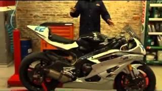 Importancia del peso en la conducción de una moto