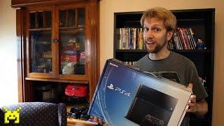 getlinkyoutube.com-Sony PlayStation 4 (PS4) unboxing, setup & system config video