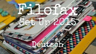 getlinkyoutube.com-Filofax Planner Set up 2015 {[Deutsch]}