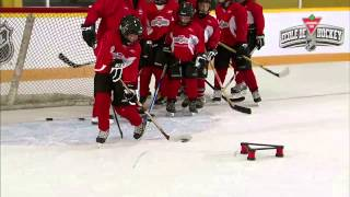 getlinkyoutube.com-NHL Skills: Toe Drag From Canadian Tire Hockey School