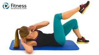 getlinkyoutube.com-10 Minute Abs Workout -- At Home Abs and Obliques Exercises with No Equipment