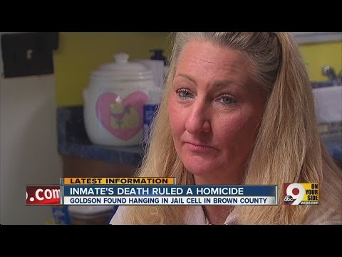 Inmate's death ruled a homicide