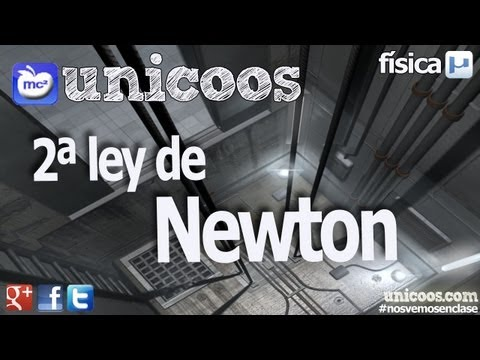 FISICA Segunda Ley de Newton DINAMICA fuerzas unicoos
