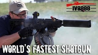 getlinkyoutube.com-World's Fastest Shotgun: Fostech Origin 12
