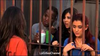 getlinkyoutube.com-Victorious: Locked Up - Andre, Jade, Cat and Trina visit Tori at the prision [Clip]