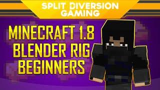 getlinkyoutube.com-Blender Minecraft Rig Guide - SplitDiversion's Minecraft 1.8 Rig