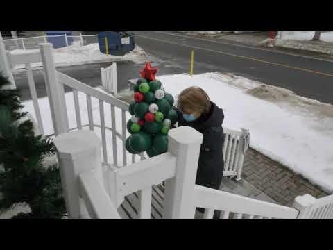 Desjardins distribue du bonheur dans les résidences de personnes âgées