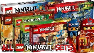 getlinkyoutube.com-ALL 170+ LEGO NINJAGO SETS COLLECTION! HD 2011-2017