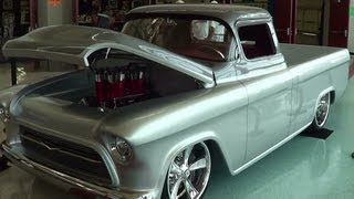 "1957 Chevrolet Street Truck ""Quick Silver"""