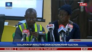 Collation Of Results In Osun Governorship Election Pt.13 |Osun Decides|