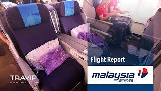 getlinkyoutube.com-Malaysia Airlines Business Class: Kuala Lumpur (KUL) to Delhi (DEL)
