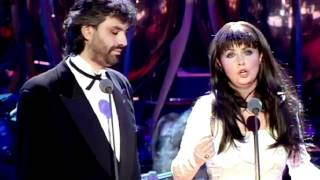 getlinkyoutube.com-Sarah Brightman   Andrea Bocelli - Time to Say Goodbye 1997 Video