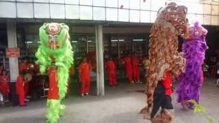 getlinkyoutube.com-Naga Barongsai Mencari Angpao (Dragon Dance and Lion Dance)