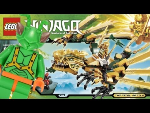 LEGO Ninjago 2013 Golden Dragon Review 70503