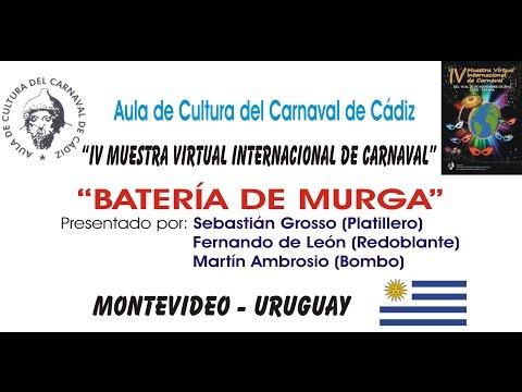 IV MUESTRA VIRTUAL - BATERÍA DE MURGA