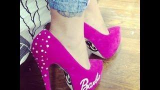 getlinkyoutube.com-Manualidades: Decora tus zapatos de Barbie- Juancarlos960