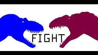 """getlinkyoutube.com-EGB: Acrocanthosaurus vs Daspletosaurus """"30 Sub Special"""""""