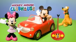 getlinkyoutube.com-MICKEY MOUSE CLUBHOUSE Disney Remote Control Car Toys Video