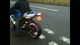 getlinkyoutube.com-My Suzuki Gsxr 600 2007 hitting the limiter