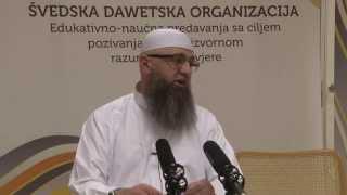 getlinkyoutube.com-Dr. Safet Kuduzovic - Obaranje pogleda i predvođenje žena u namazu