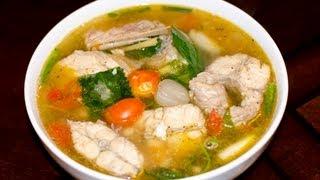 getlinkyoutube.com-Catfish Soup Recipe Tutorial