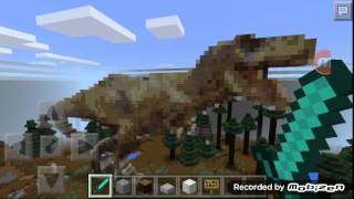 getlinkyoutube.com-Minecraft pocket edition Jurassic world