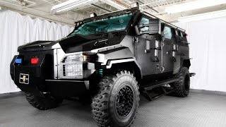 getlinkyoutube.com-Armoured Ford F-550 Swat Special, ready to trade hands for a little under $300,000