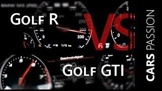 getlinkyoutube.com-Golf 7 R vs Golf 7 GTi -  winner is ?