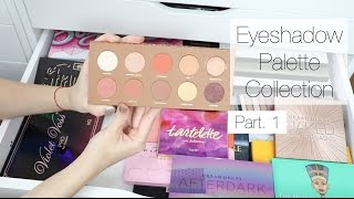 getlinkyoutube.com-Makeup Collection + Storage | Eyeshadow Palettes