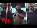Tyson Beckford Hitches A Ride With The TMZ Celebrity Tour Bus | TMZ TV