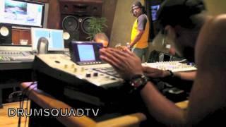 B.o.B & Drumma Boy en Studio