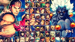 getlinkyoutube.com-Hyper Street Fighter IV M.U.G.E.N Hi-Res (GAME COMPLETO) by Ristar87 & Tradt