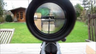 getlinkyoutube.com-Umarex 850 Air Magnum Target Kit Luftgewehr Test