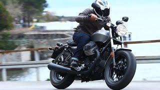 getlinkyoutube.com-Moto Guzzi V9 review   Visordown road test