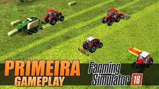 getlinkyoutube.com-Farming Simulator 16 - Primeira Gameplay
