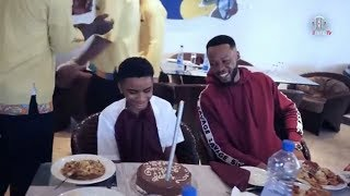 Watch as Flavor celebrates semah birthday in a grand style