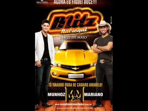 Camaro Amarelo - Munhoz e Mariano ( NOVA - AO VIVO )